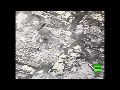 لحظة تدمير المئذنة الحدباء في الموصل  - نشر قبل 2 ساعة