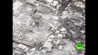 التحالف وداعش يتبادلان الاتهامات حول قصف مسجد