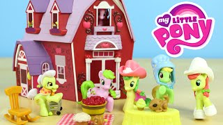 My Little Pony Granny Smith Sweet Apple Acres Barn Toy Unboxing Parody Story