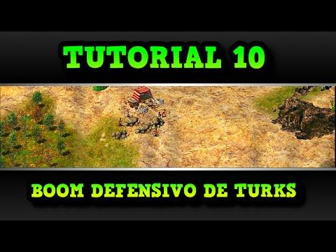 Age of Empires 2 HD Tutorial 10 Boom Defensivo de Turks AoE2HD Gameplay PT BR