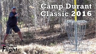 camp durant classic 2016 disc golf tournament