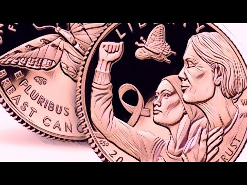 First USA pink gold coin has now been released | breast cancer awareness