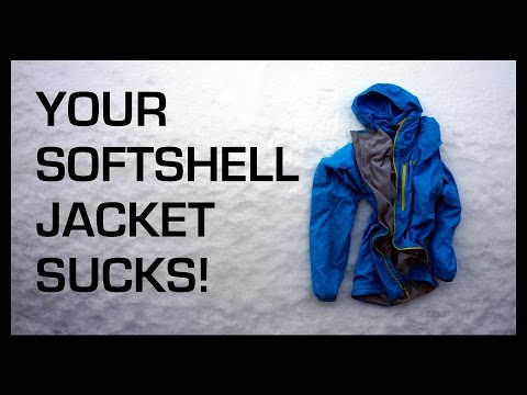 The Best Softshell Jacket in the WORLD! ~ Andy Kirkpatrick