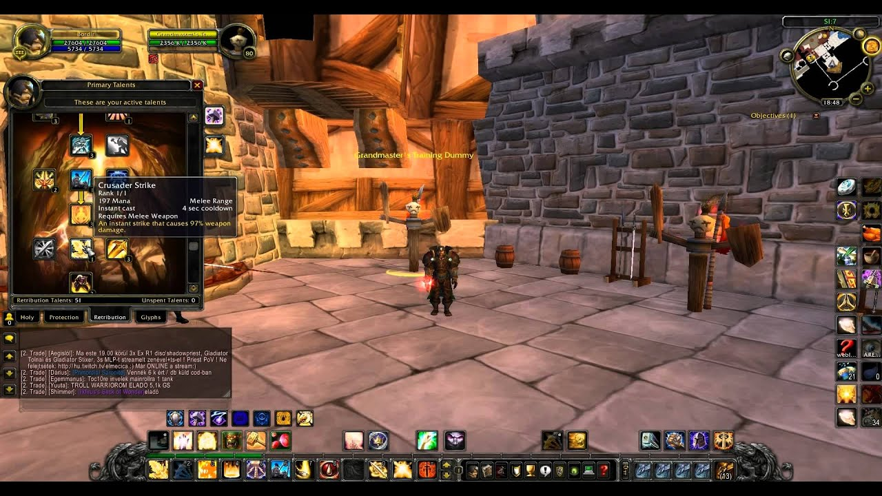 retribution paladin pve guide hun  3 3 5 content  tauri wow szerver