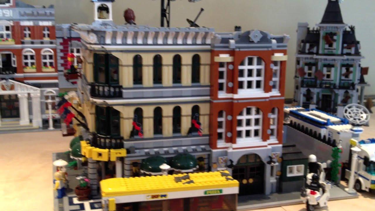 Basement Lego City Update 2