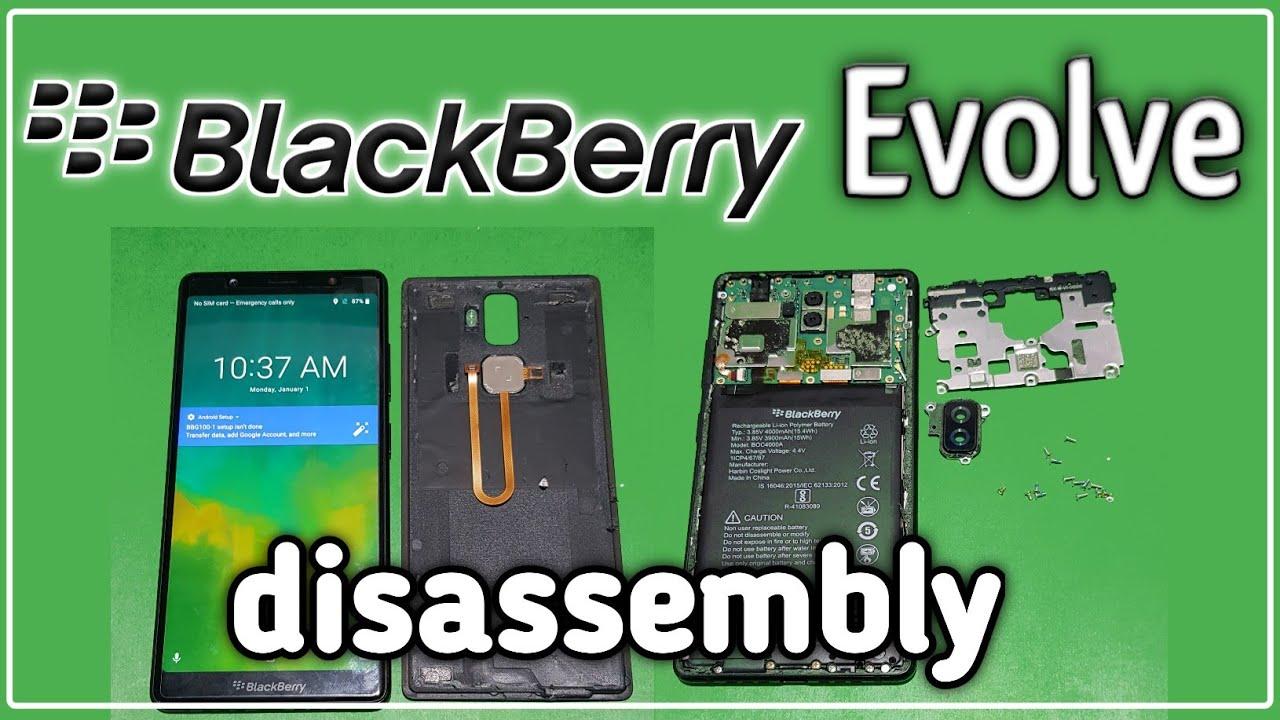 Blackberry Evolve bbg100-0 Disassembly   Blackberry Evolve bbg100-0 Teardown   Google Bypass Rawal  