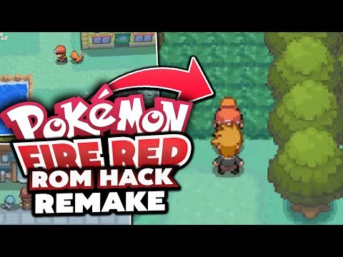 FULL COMPLETED FIRE RED REMAKE!? Pokémon Fire Red ROM HACK! - GAMEPLAY and Download