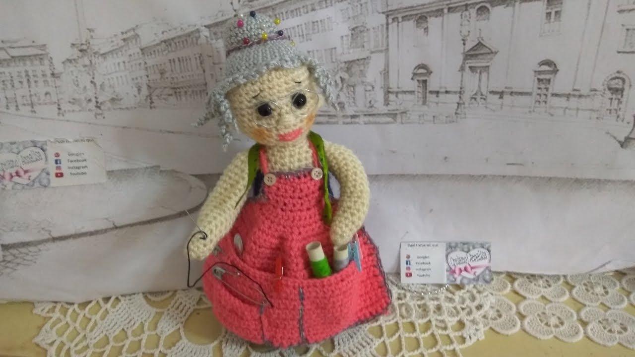 BAMBOLA AMIGURUMI schema uncinetto. Amigurumi doll crochet | Etsy | 720x1280