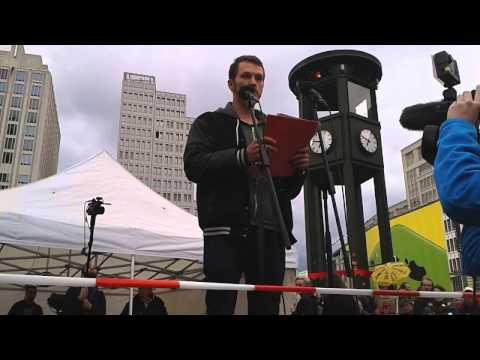 Student Heiko aus Berlin auf dem Potsdamer Platz 12.05.14