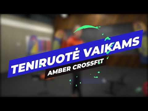 Treniruotė vaikams - Amber CrossFit nuotolinė vaikų treniruotė nr.: 03 29