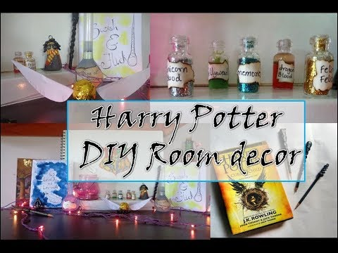 Harry Potter Diy Room Decor Indian Youtuber Sharvari Patil