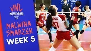 Malwina Smarzek is back! 31 points vs. Japan | Volleyball Nations League 2019