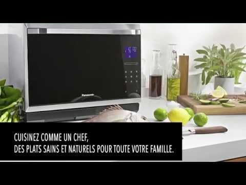 Swipe touch function panasonic premium microwave oven for Cuisinez comme un chef
