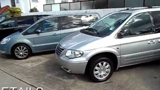 for sale 2008 chrysler grand voyager executive xs crd 2 8 diesel automatic 5door mpv 7seater