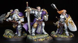 How to Paint Shadespire Stormcast Eternals - Sigmarite Brotherhood (Part 1)