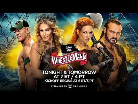 Прогнозы на WWE Wrestlemania 36