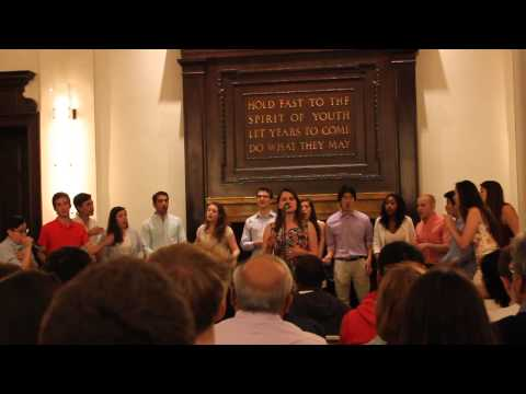 Young and Beautiful - Columbia Notes and Keys A Cappella