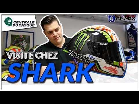 Visite : Shark Helmets à Marseille - Centrale-du-casque.com