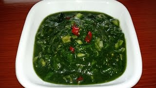 Larb Spinach *a.k.a. Lao larb thao*