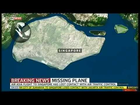 Air Asia Flight To Singapore Has Lost Contact | Top News