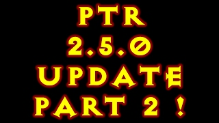 diablo 3 ptr 2 5 0 part 2 set updates