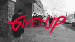 six60 dont give it up lyric video