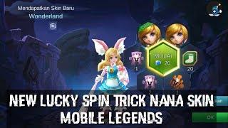 New TIps dan Trick Lucky Spin  Mobile Legends Nana Skin