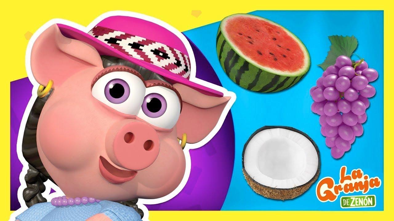 Doña Pancha y Las Frutas #3 - Aprende Colores y Números | La Granja de Zenón