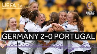 #WU17 highlights: Germany 2-0 Portugal