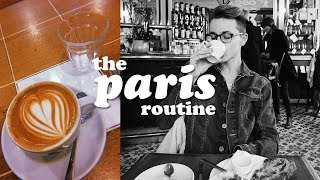 THE PARIS ROUTINE
