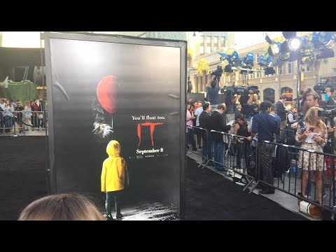 At the World Premiere of Stephen King's IT LIVE