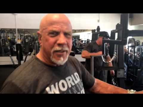 MORNING IN THE LIFE OF RIC DRASIN  Workouts Gold's Gym