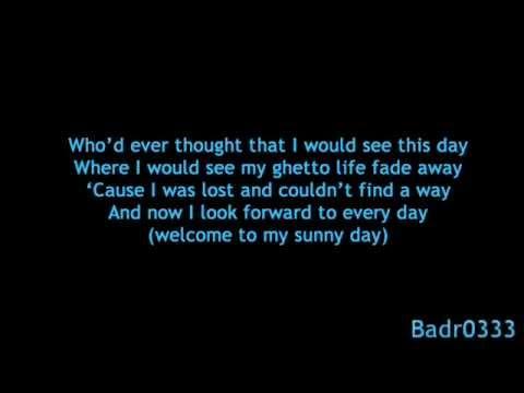 sunnyday with Lyrics(Akon Feat. wyclef Jean)