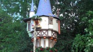 Rapunzel's Tangled Tower at Epcot's Flower and Garden Festival
