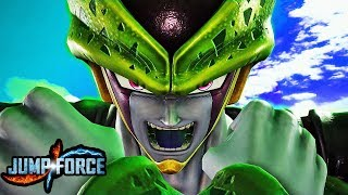 JUMP FORCE - NEW CELL & PICCOLO GAMEPLAY SCREENSHOTS! (HD 1080p)
