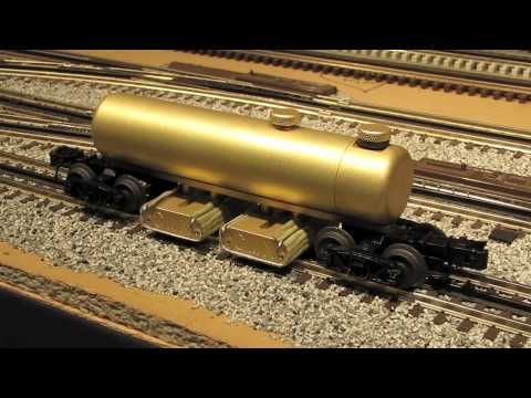 CMX Clean Machine Track Cleaning Car for 3-Rail O-Scale