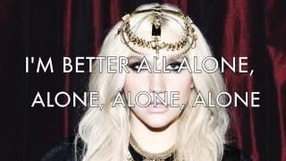 Kesha - Blind Lyrics