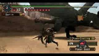 Black Diablos vs Exterminator Bow II - Monster Hunter Portable 2nd G - MHP2ndG