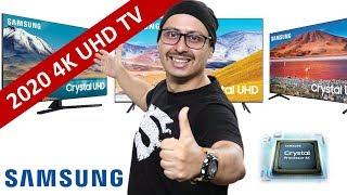 Samsung 2020 4K UHD TV Launched TU7200 TU8000 TU8200 TU8570