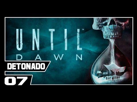 UNTIL DAWN - Detonado Dublado - Parte #7 - Todo mundo MORRENDO!! Socorro!!!!