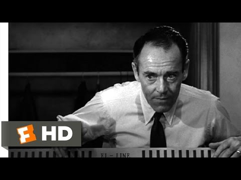 12 Angry Men (5/10) Movie CLIP - Re-enactment (1957) HD