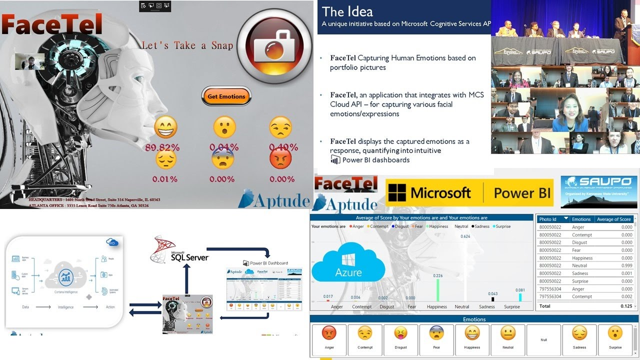 Interview for Power BI & Microsoft Azure Cognitive AI on Global International Conference SAUPO 2017 - YouTube