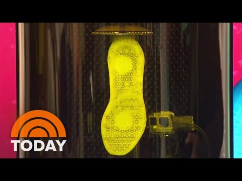 How 3-D Printing Is Transforming The Future Of Footwear | TODAY