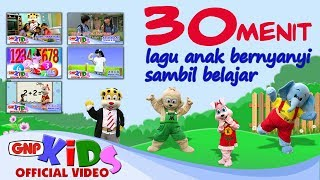 30 Menit Lagu Anak-anak Bernyanyi Sambil Belajar (HD Video)