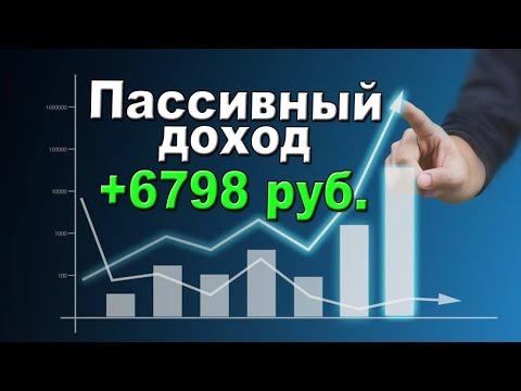 Пассивный доход от инвестиций в акции и облигации