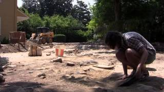 UNC archaeologists unearth history at president's house