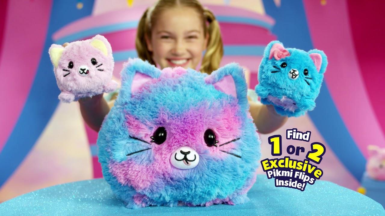 Pikmi Pops Giant Pikmi Flips Cotton Candy Series 15 Giant Pom