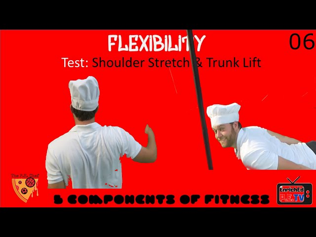 PE Chef S5E4: One Minute Lesson- Flexibility (5 Components of Fitness)