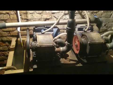 Вакуумная установка. Водокольцевые насосы НВ-75