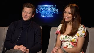 Tye Sheridan & Olivia Cooke - Ready Player One